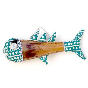 Textile and Palm Fish